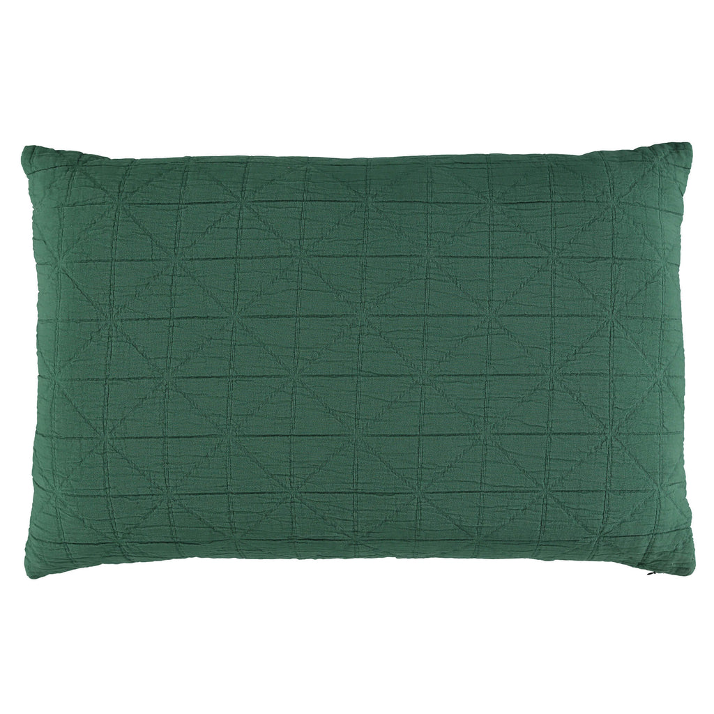 Diamond Soft cotton Pillow cover - Green available in 4 sizes