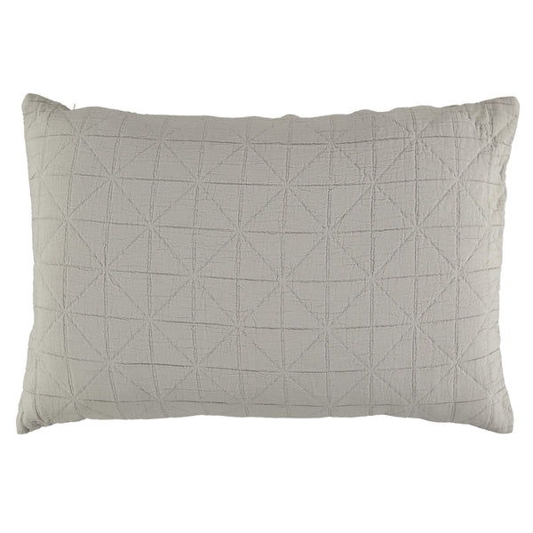 Diamond Soft cotton Pillow cover - Light Grey available in 4 sizes
