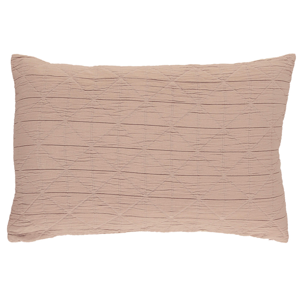 Diamond Soft cotton Pillow cover - Mink available in 4 sizes