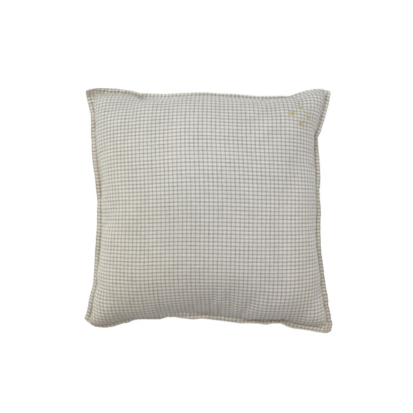 Camomile Padded Cushion - Double Check
