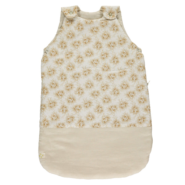 Sleeping Bag - Spot Floral Ochre