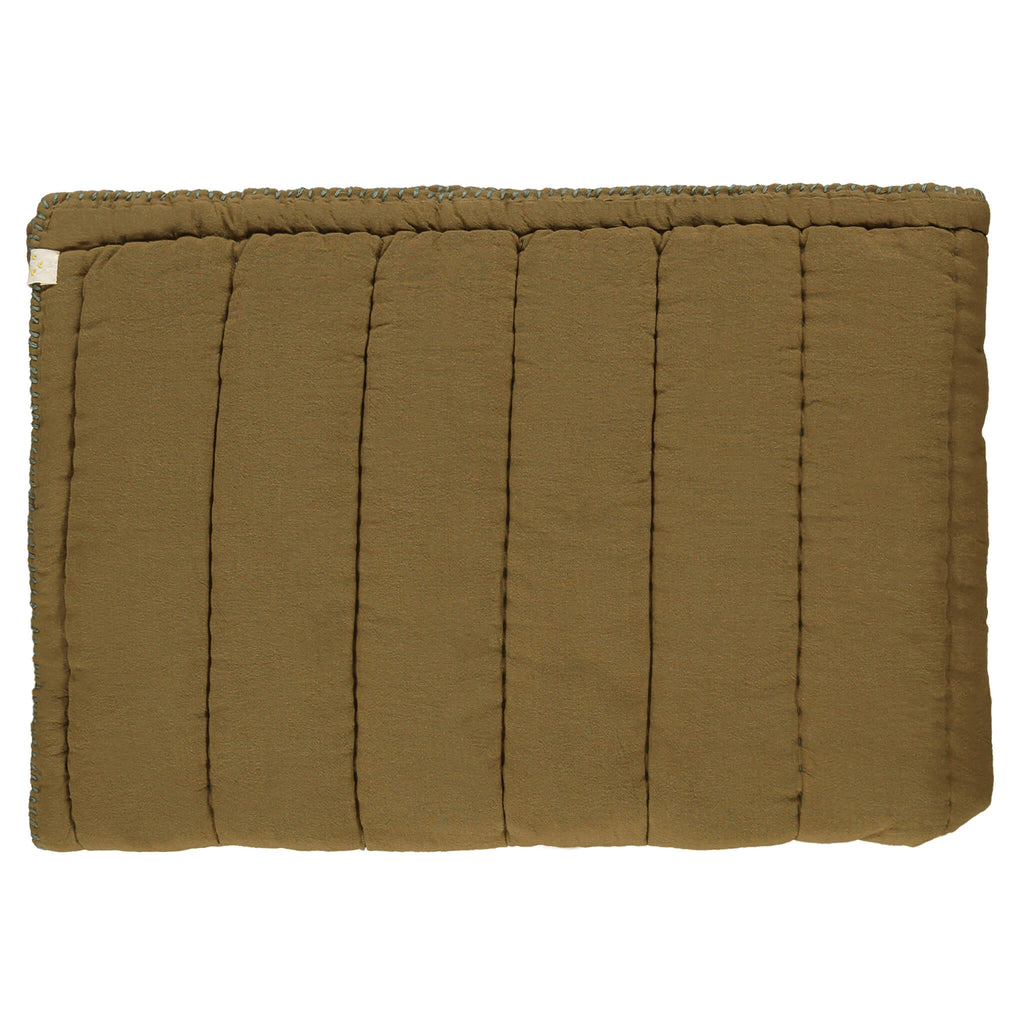 Hand Quilted blanket - Khaki