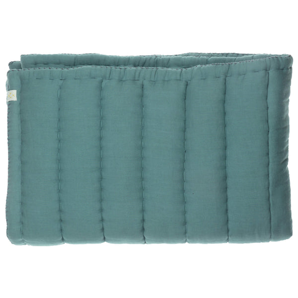 Hand Quilted Blanket - Teal