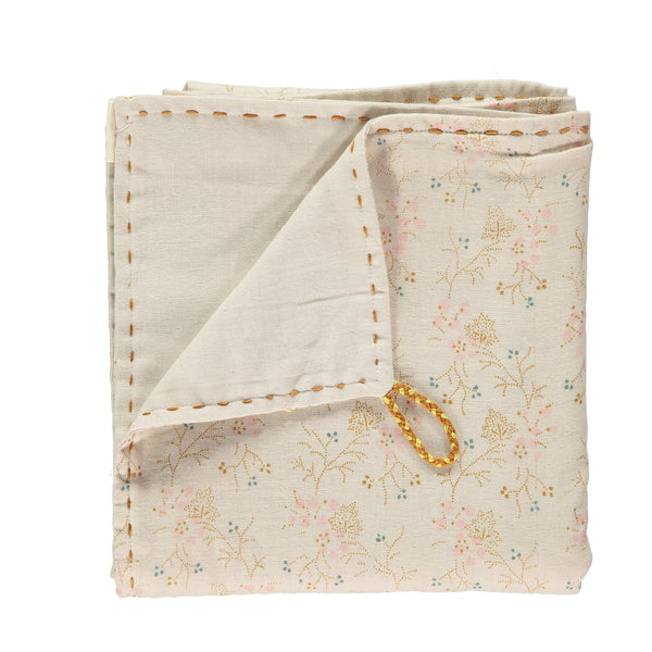 Double Layer Reversible Swaddle - Minako Golden/ Stone
