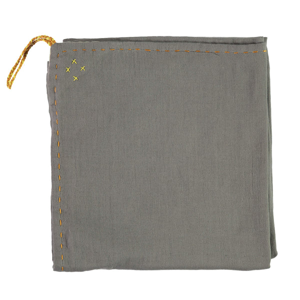 Single layer Swaddle blanket - Slate