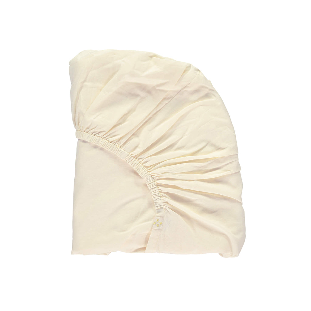 Parchment Organic Fitted sheet - Double/King size