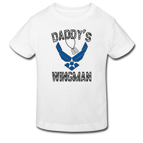 Toddler Tee - Daddy's Wingman Air Force