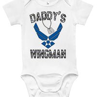 Baby Bodysuit - Air Force Daddy's Wingman