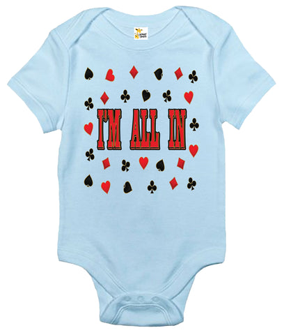Baby Bodysuit - I'm All In
