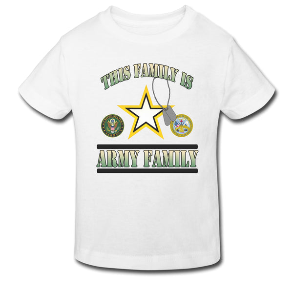Toddler Tee - This Family Is Army Family