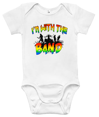 Baby Bodysuit - I'm With the Band