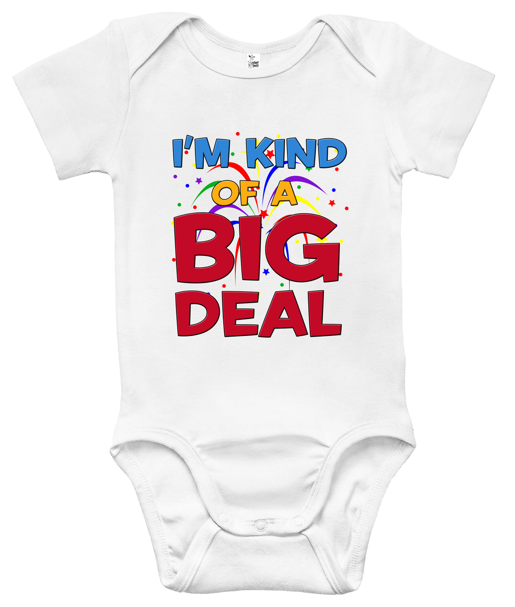 Baby Bodysuit - I'm Kind of a Big Deal