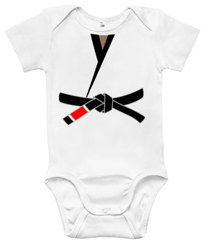 Baby Bodysuit - Black Belt Martial Arts Karategi