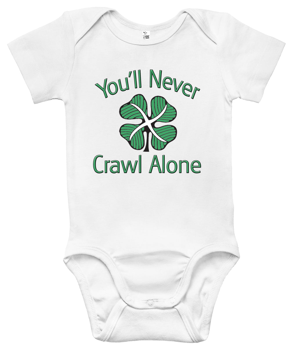Baby Bodysuit - Celtic FC - You'll Never Crawl Alone