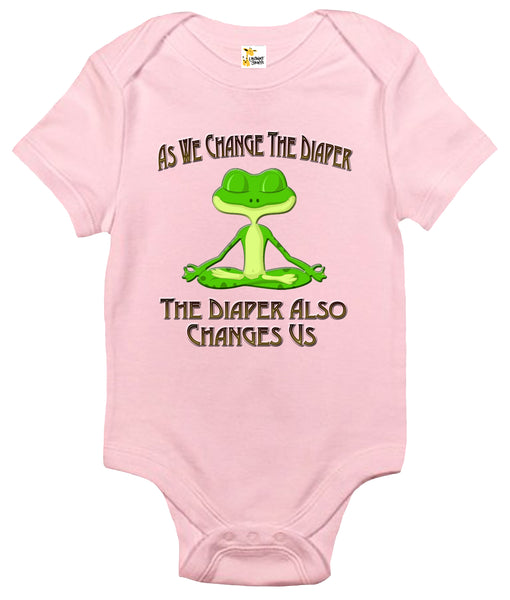 Baby Bodysuit - As We Change the Diaper