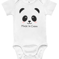 "Baby Bodysuit - ""Made In China"""