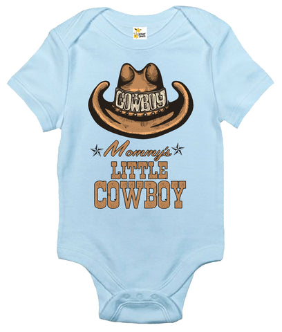 Baby Bodysuit - Mommy's Little Cowboy