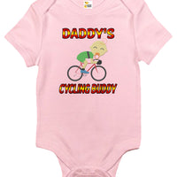 Baby Bodysuit - Daddy's Cycling Buddy