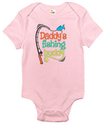 Baby Bodysuit - Daddy's Fishing Buddy