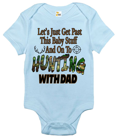 Baby Bodysuit - Hunting With Dad