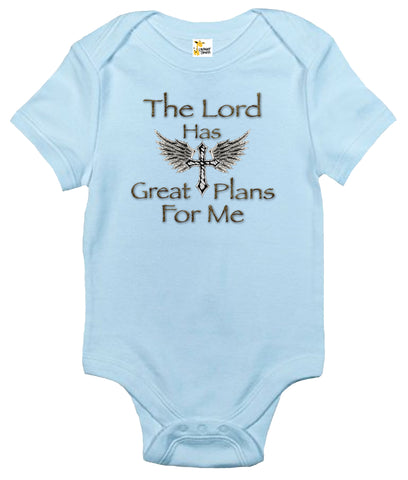 Baby Bodysuit - The Lord Has Great Plans for Me