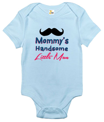 Baby Bodysuit - Mommy's Handsome Little Man