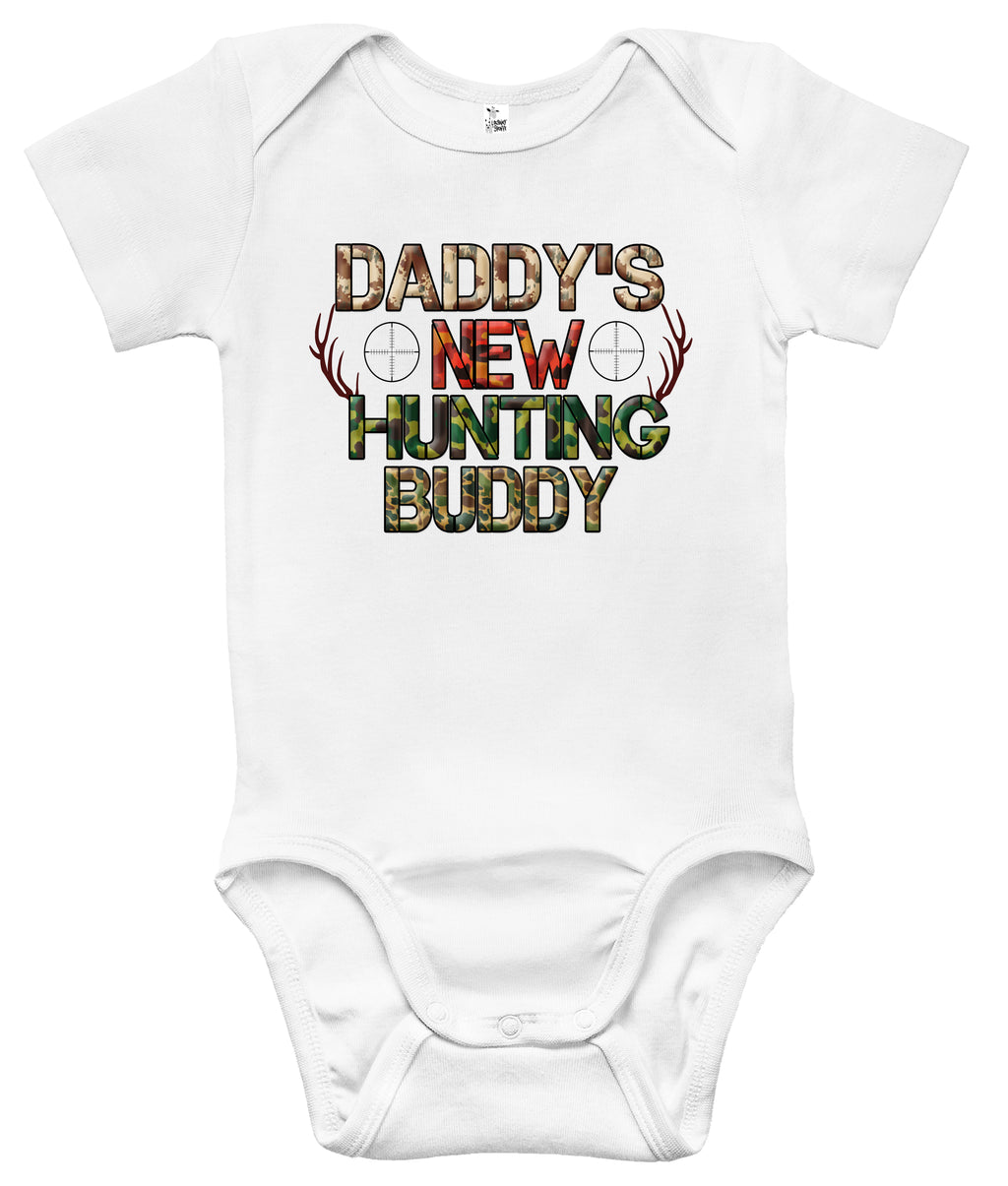 Baby Bodysuit - Daddy's New Hunting Buddy