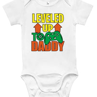 Baby Bodysuit - Leveled Up to Daddy