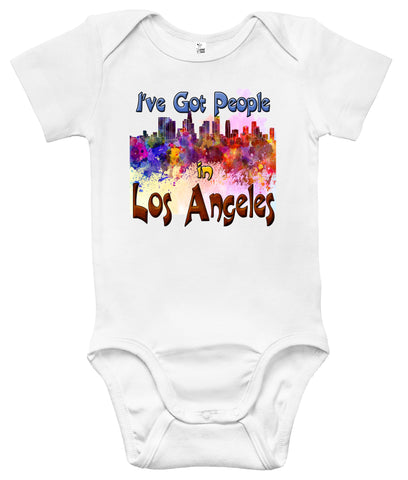 Baby Bodysuit - I've Got People in Los Angeles