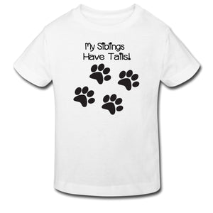 Toddler Tee - My Siblings Have Tails