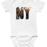Baby Bodysuit - New York Skyline