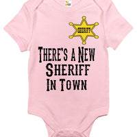 Baby Bodysuit - There's a New Sheriff in Town