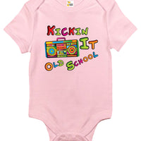 Baby Bodysuit - Kickin It Old School