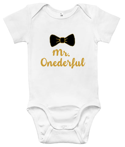Baby Bodysuit - Mr. Onederful