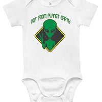 Baby Bodysuit - Not From Planet Earth