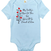Baby Bodysuit - My Daddy's New At This