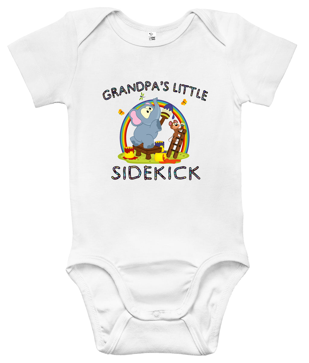 Baby Bodysuit - Grandpa's Little Sidekick