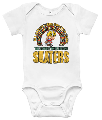 Baby Bodysuit - The Coolest Ones Become Skaters