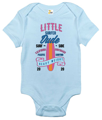 Baby Bodysuit - Little Surfer Dude