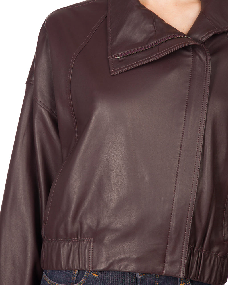 Light Weight Leather Jacket