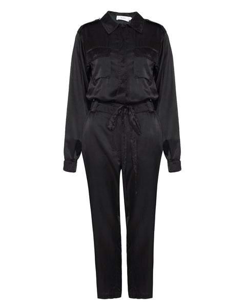 Jeter Silk and Cotton Jumpsuit