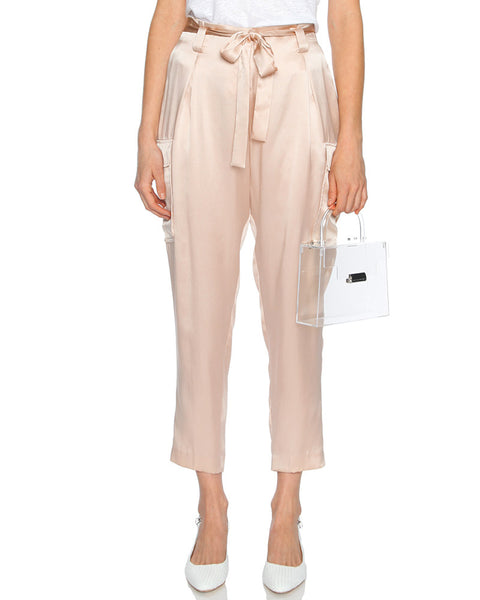 Roxy Paperbag Cargo Pant in Petal