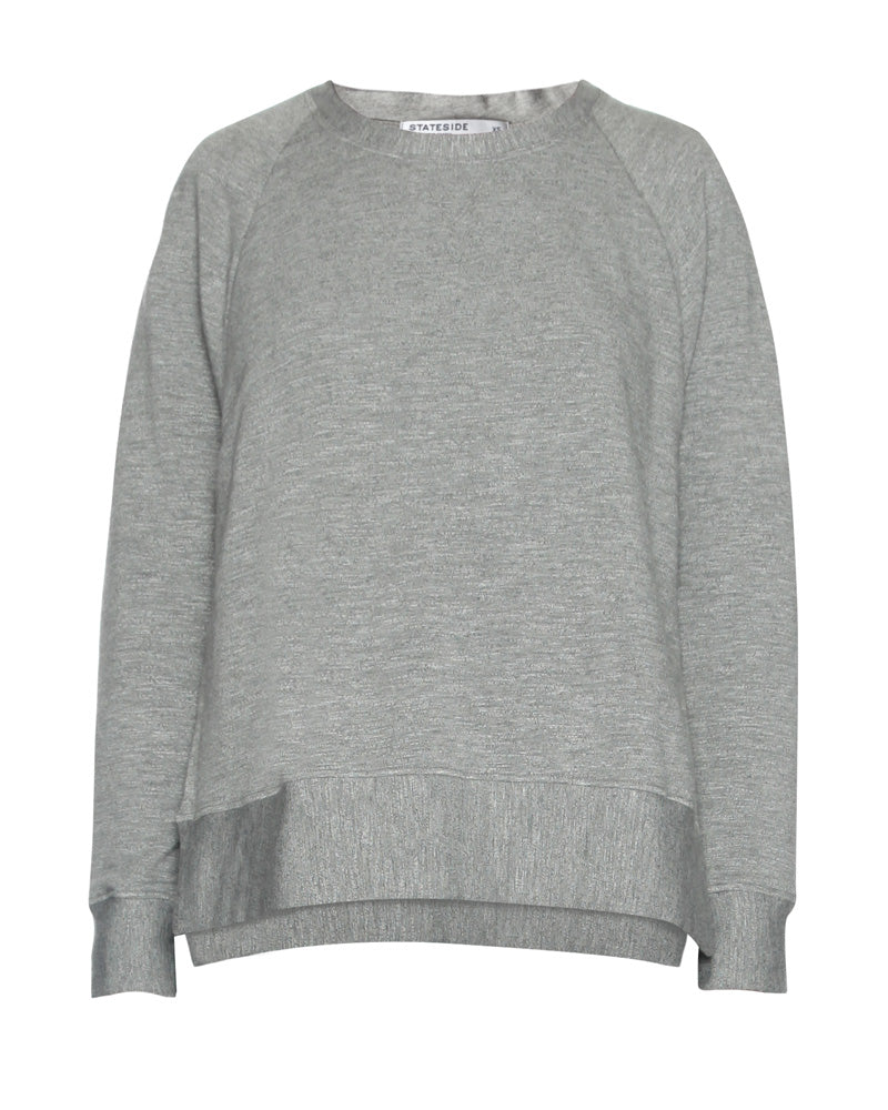 Sweatshirt with Side Slits
