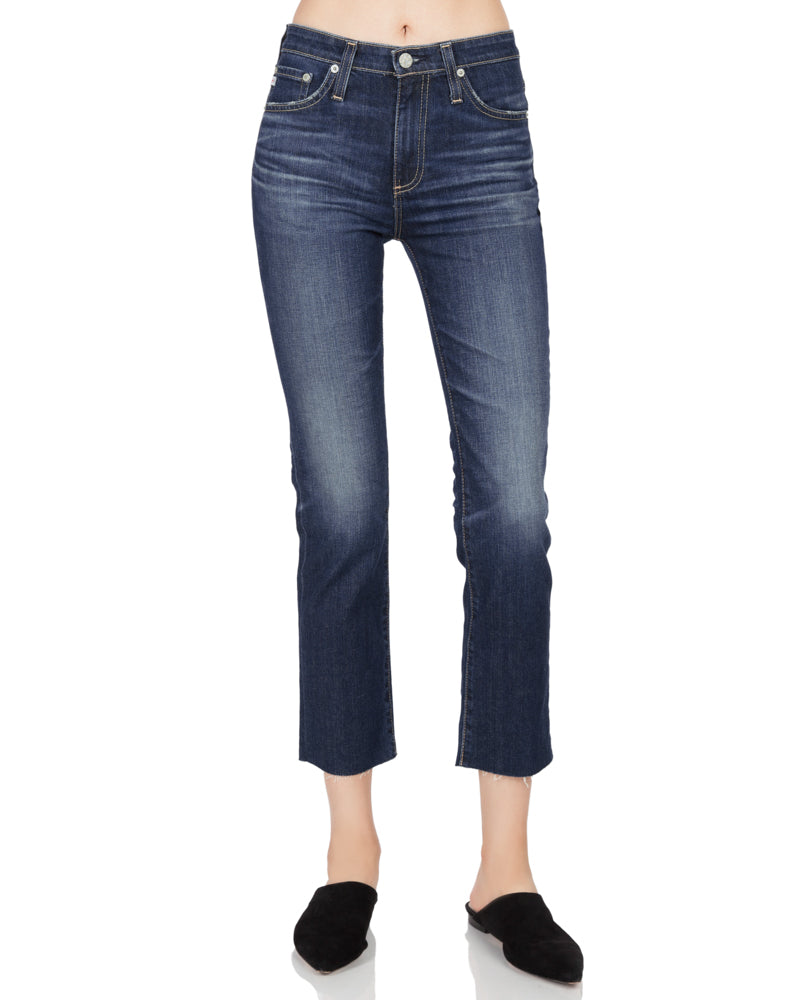 Isabelle Straight Leg Crop Jean in 9 Years Amendment