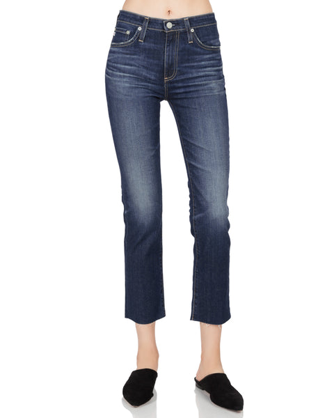 Isabelle Straight Leg Crop Jean 9 Years Amendment