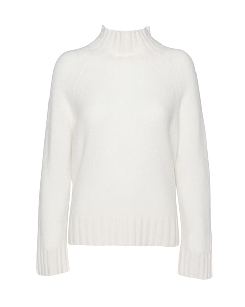 Margaret High Neck Cashmere Sweater