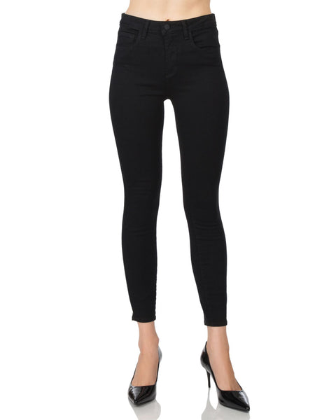 Margot High Rise Crop-Noir