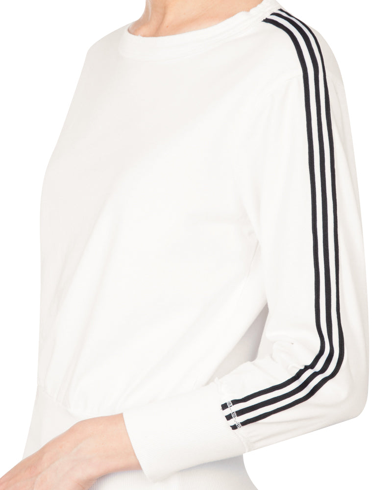 Athletic Stripes Pullover