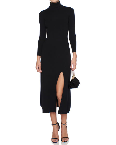 Ambrose Turtle Neck Midi Dress