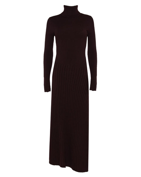 Emmy Knit Turtleneck Dress